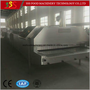 Ce Certificate Liquid Nitrogen Freezer Tunnel Freezer Freon IQF Freezing Machine pictures & photos