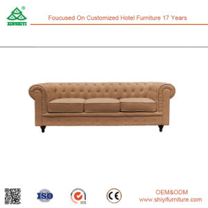 2017 Hot Sale Living Room Furniture Modern Wood Frame Sofa pictures & photos