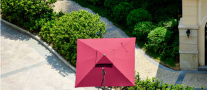 Red Outdoor Umbrella pictures & photos