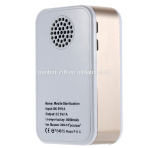 Portable Power Bank Personal Ozone Generator Air Purifier pictures & photos