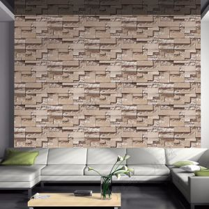 Washable Brick Stone Design 3D PVC Wall Coating Interior Wall Decor Wall Paper pictures & photos