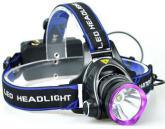 Zoomable 3 Modes Super Bright LED Headlamp with Rechargeable Batteries pictures & photos