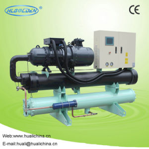 2017 High Performance Screw Type Water Cooled Water Chiller pictures & photos