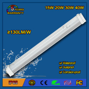 High Brightness 130lm/W 30W SMD2835 LED Tri-Proof Light for Tunnel pictures & photos