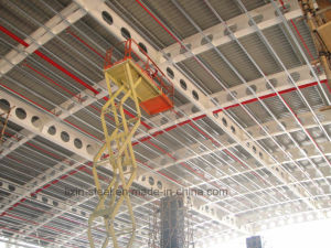 Light Weight Steel Building with Honeycomb Fashion Beam pictures & photos