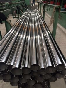 AISI201 Stainless Steel Pipe Round Shape Bright Polished with High Quality China Supplier pictures & photos