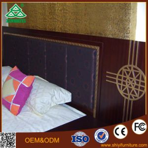 Wooden Hotel Bed for Hotel Bedroom Furniture for 5 Star Hotel pictures & photos