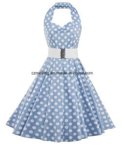 Polka Dots Women`S Tube Dress