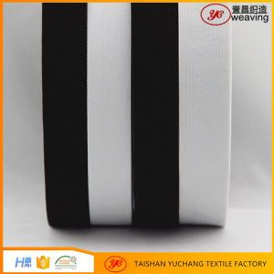 Wholesale Custom Flat Knitted Imported Rubber Elastic Belt Material pictures & photos