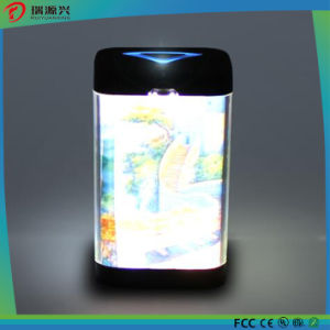 Factory price picture insert power bank OEM with LED display pictures & photos