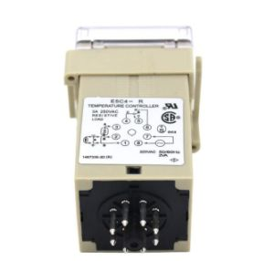 E5c4 AC 220V Relay Output K Input Digital Temperature Controller with Socket pictures & photos
