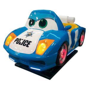 2016 Hot Sale Children Amusement Police Toy Car Kiddy Ride for Children Entertainment (K166-BL) pictures & photos