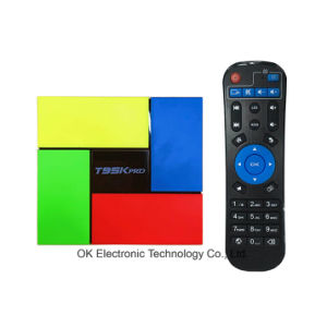 T95k PRO 2GB 16GB Android 6.0 Smart TV Box Octa Core Amlogic S912 Kodi Dual Band WiFi Bt4.0 4k Media Player pictures & photos