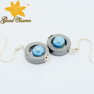 Hter-16122802 Latest Design Tourmaline Fashion Earrings pictures & photos
