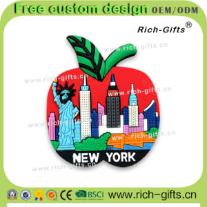 Customized Promotional Gifts Permanent Fridge Magnets Souvenir New York (RC- US)