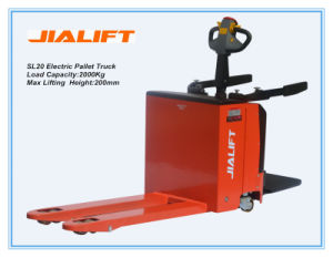 High Quality 2.0ton Electric Pallet Truck SL20 pictures & photos