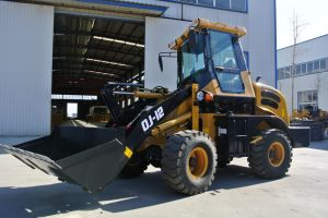 China Zl12 1.2 Ton Front End Mini Wheel Loader for Farm pictures & photos