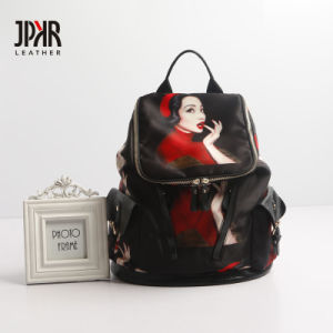 Al8855. Leather Backpack Ladies′ Handbag Designer Handbags Fashion Handbag Leather Handbags Women Bag
