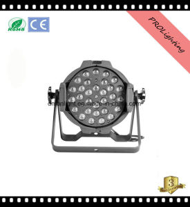 Super Bright Zoom LED PAR Can Lights 30X3w Rgbwy+UV 6-in-1 Portable Stage Lighting