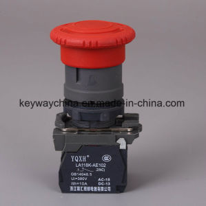 22mm Emergency Type Push Button Switch with Ce pictures & photos