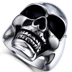 High Quality 316 Stainless Steel Skull Ring Custom Jewelry pictures & photos