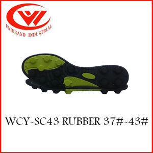 2017 Fashion Design High Quality Rubber Outsole for Making Football Shoes pictures & photos