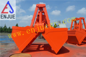 Electro-Hydraulic Clamshell Grab Bucket for Coal Bulk pictures & photos