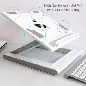 Laptop Tablet Holder Cooler Height Adjustable Home Office Lapdesk pictures & photos