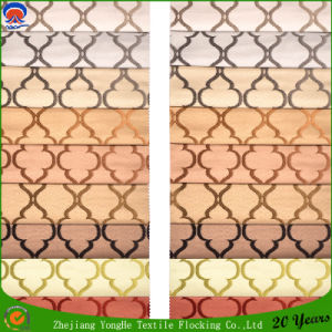 Home Textile Woven Polyester Waterproof Fr Blackout Jacquard Curtain Fabric pictures & photos