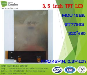 3.5 Inch 320X480 Customized High Brightness TFT LCD Display with Touch Panel pictures & photos