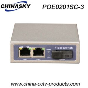 1000Mbps 3 Ports Poe Switch with 1 Sc Port (POE0201SC-3) pictures & photos