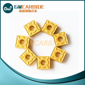 CNC Tungsten Carbide Indexable Inserts pictures & photos