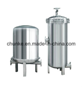 Industrial Stainless Steel Bag Type Water Filter for Water Treatment pictures & photos