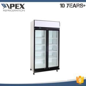 Double Door Comprossor Top Mounted Cooler, Refrigerator, Display Cooler pictures & photos