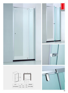 6mm Glass Thickness Simple Glass Door / Shower Screen (Cvp025-03) pictures & photos