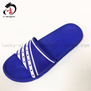 Bright Color PVC Upper Slippers for Men pictures & photos