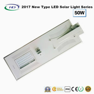 2017 New Type All-in-One Solar LED Street Light 50W pictures & photos