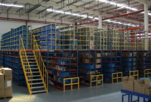 Warehouse Selective Mezzanine Heavy Duty Pallet Rack pictures & photos