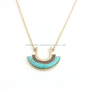 Moon Alloy Pendant Long Necklaces Chain Vintage Jewelry pictures & photos