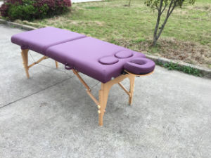 Portable Massage Table Massage Bed for Women pictures & photos