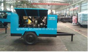 Kaishan LGCY-7.5/7 Yuchai Diesel Drive 100psig Portable Screw Air Compressor pictures & photos