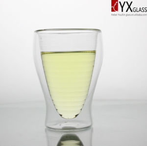 300ml Double Wall Glass Tea Cup/Double Wall Glass Coffee Cup/Double Layer Glass Tea Cup pictures & photos