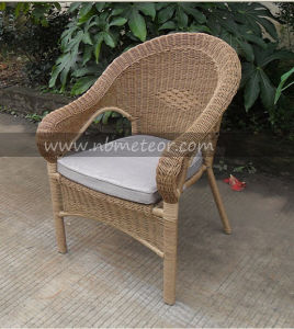 Mtc-077 Outdoor Rattan Chair and Tea Table Set Garden Bistro Set pictures & photos