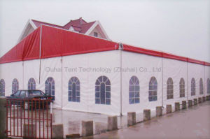 12m X 15m Party Tent in Red Roof Top pictures & photos