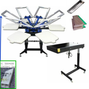 TM-R6k Multi Color 6 Colors Textile Silk Screen Printer pictures & photos