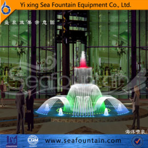Seafountain Design Program Control Fountain with Decorative Lamp pictures & photos