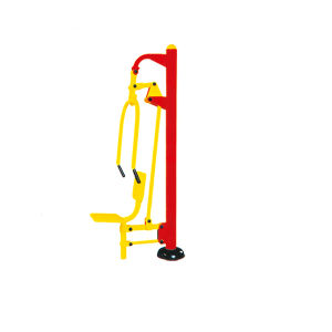 Outdoor Single Sit Pusher Public Fitness Equipment pictures & photos