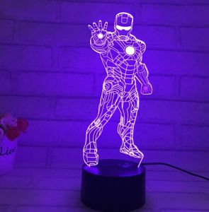Custom 3D LED Illusion Night Light pictures & photos