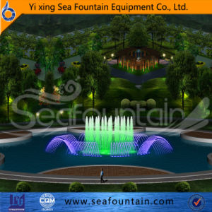 Stainless Steel Material Easy Installnation Program Control Fountain pictures & photos