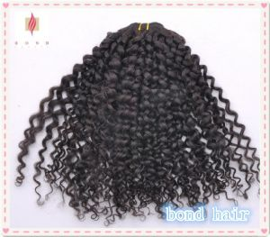 Wholesale -Kinky Curl Hair Extension/Hair Weaves pictures & photos